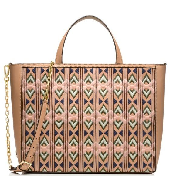 Tory Burch Handbags - Tory Burch embellished east west handbag